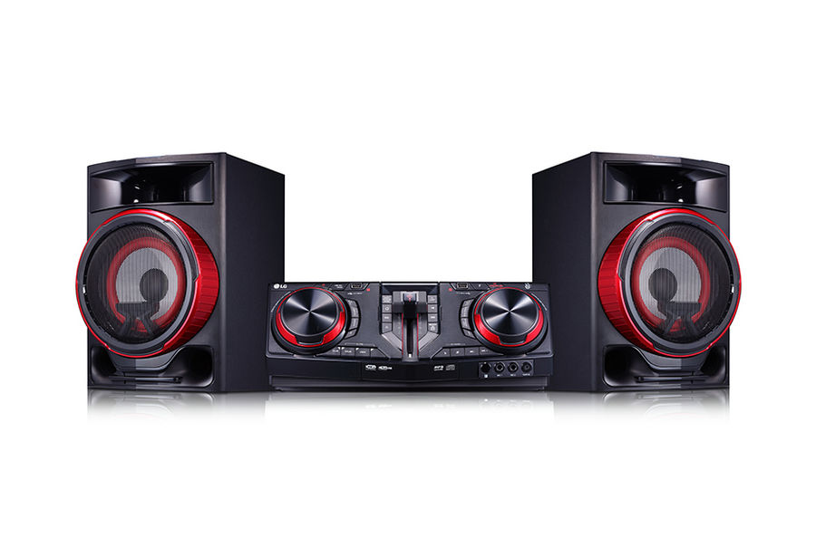 Музыкальный центр LG CJ87,  черный