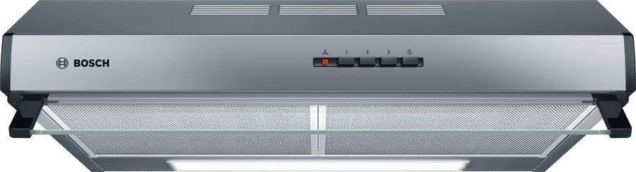 Вытяжка козырьковая Bosch DUL63CC50 нержавеющая сталь управление: кнопочное (1 мотор)