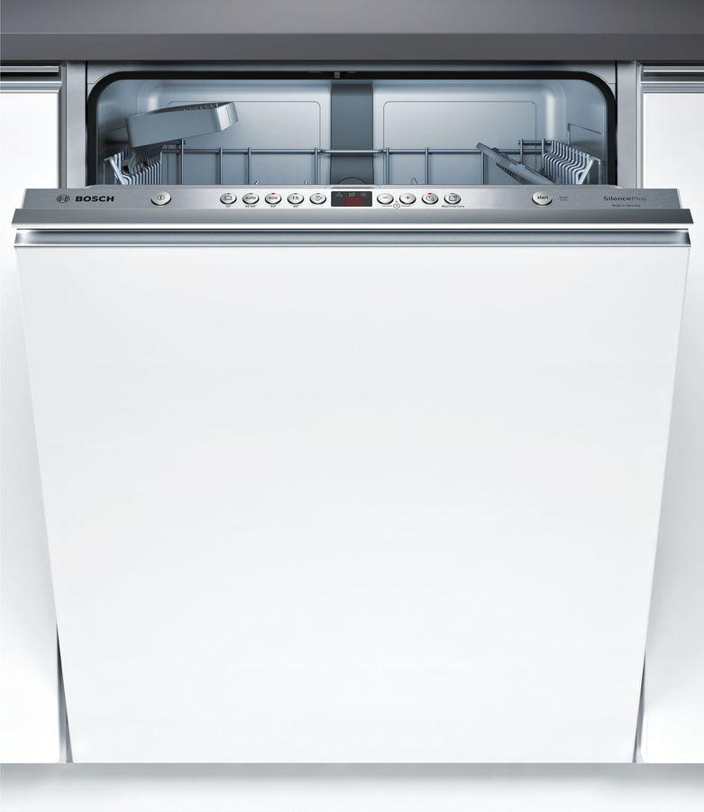 Посудомоечная машина полноразмерная BOSCH SMV45IX00R,  серебристый