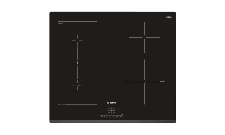 Варочная панель BOSCH PWP631BB1E,  индукционная,  независимая,  черный