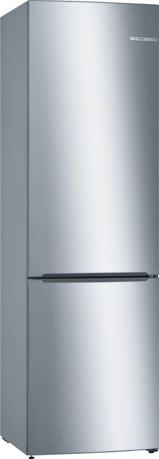 Холодильник BOSCH KGV39XL22R,  двухкамерный, нержавеющая сталь