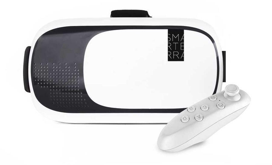 Очки виртуальной реальности SMARTERRA VR,  белый [3dsmarvr]