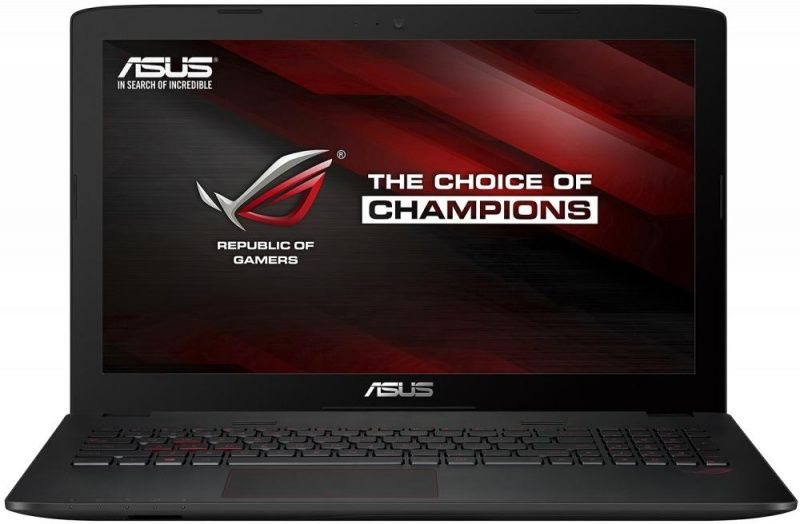Ноутбук ASUS GL552VX-DM288T, 15.6, Intel Core i5 6300HQ 2.3ГГц, 8Гб, 2Тб, 128Гб SSD, nVidia GeForce GTX 950M - 2048 Мб, DVD-RW, Windows 10, черный [90nb0aw3-m03510]Ноутбуки<br>экран: 15.6;  разрешение экрана: 1920х1080; процессор: Intel Core i5 6300HQ; частота: 2.3 ГГц (3.2 ГГц, в режиме Turbo); память: 8192 Мб, DDR4; HDD: 2000 Гб, 5400 об/мин; SSD: 128 Гб; nVidia GeForce GTX 950M - 2048 Мб; DVD-RW; WiFi;  Bluetooth; HDMI; WEB-камера; Windows 10<br>