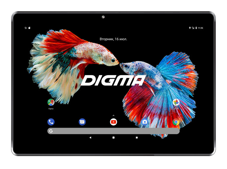 Планшет DIGMA Plane 1523 3G, 1GB, 8GB, 3G, Android 7.0 черный [ps1135mg] планшет digma plane 1505 3g black ps1083mg mediatek mt8321 1 3 ghz 1024mb 8gb gps 3g wi fi bluetooth cam 10 1 1280x800 android 394172