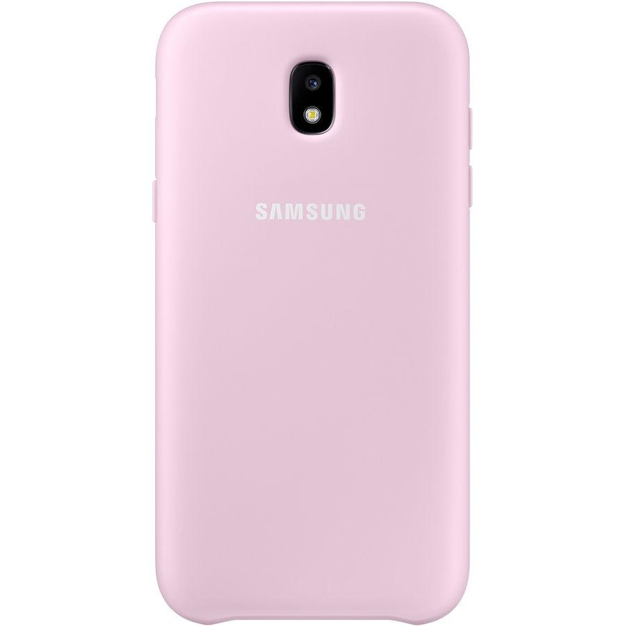 Чехол (клип-кейс) SAMSUNG Dual Layer Cover, для Samsung Galaxy J5 (2017), розовый [ef-pj530cpegru]