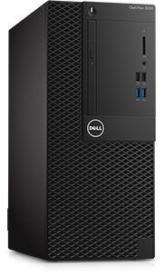 Компьютер  DELL Optiplex 3050,  Intel  Core i5  7500,  DDR4 8Гб, 1000Гб,  Intel HD Graphics 630,  DVD-RW,  Linux,  черный [3050-0375]