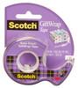 Клейкая лента 3M Scotch Satin 7100093925 шир.19мм дл.7.5м полуматовая на мини-диспенсере вид 1