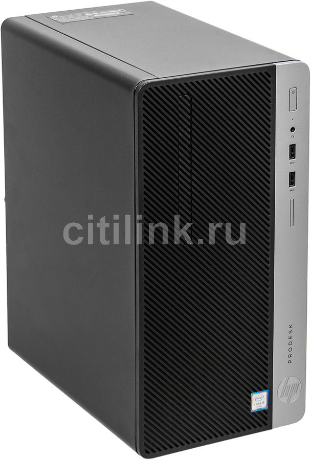 Компьютер HP ProDesk 400 G4, Intel Core i5 6500, DDR4 4Гб, 500Гб, Intel HD Graphics 530, DVD-RW, Windows 10 Professional, черный [1jj52ea] new intel core i3 7100u i5 7200u fanless intel skylake mini pc intel hd graphics 620 4k hdmi vga usb3 0 sd card desktop computer