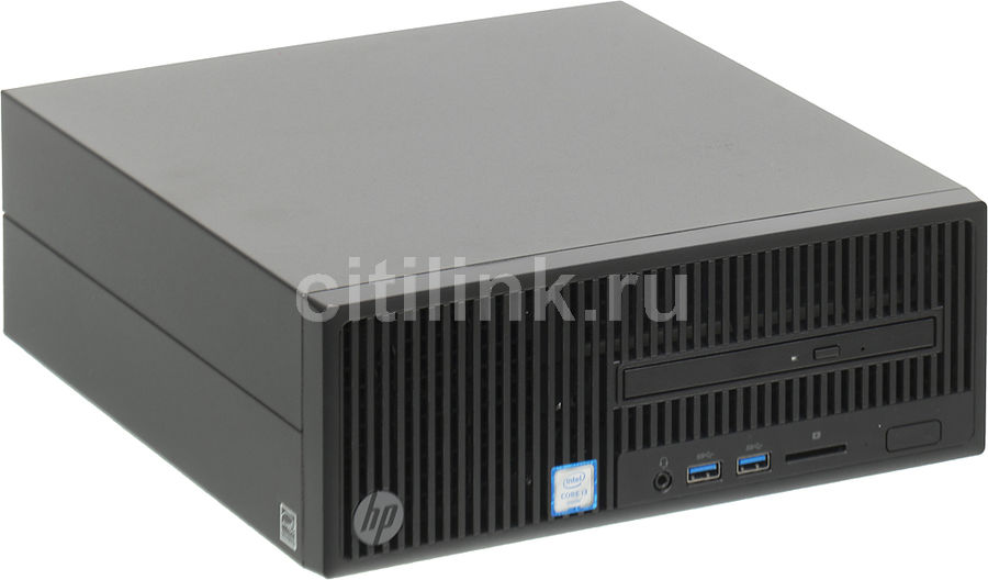Компьютер HP 280 G2, Intel Core i3 6100, DDR4 4Гб, 500Гб, Intel HD Graphics 530, DVD-RW, Free DOS, черный [y5q31ea] моноблок msi pro 22e 6m 022ru core i3 6100 2 3ghz 21 5 4gb 1tb dvd hd graphics 530 w10 home 64 9s6 ac1711 022