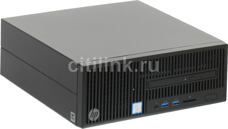 Компьютер HP 280 G2, Intel Core i5 6500, DDR4 4Гб, 500Гб, Intel HD Graphics 530, DVD-RW, Free DOS, черный [y5q32ea] ноутбук hp 15 bs027ur 1zj93ea core i3 6006u 4gb 500gb 15 6 dvd dos black