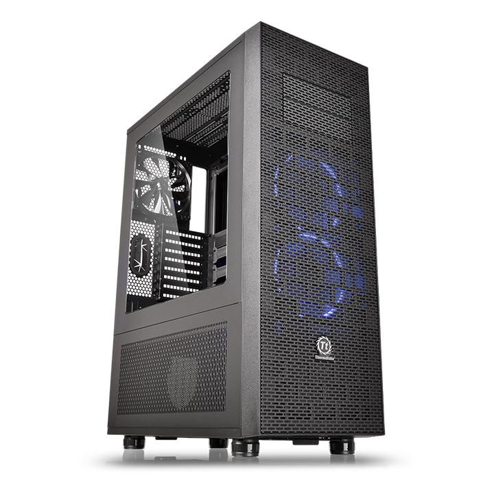 Корпус ATX THERMALTAKE Core X71, Full-Tower, без БП,  черный