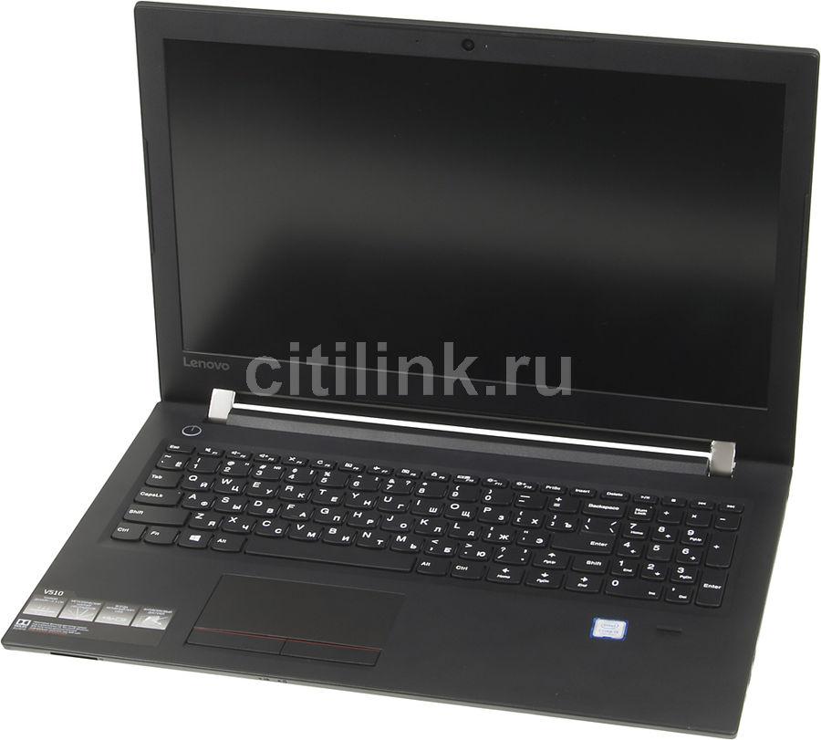 "Ноутбук Lenovo V510-15IKB i5 7200U/4Gb/1Tb/DVDRW/620/15.6""/FHD/DOS/black/WiFi/BT/C (плохая упаковка)"