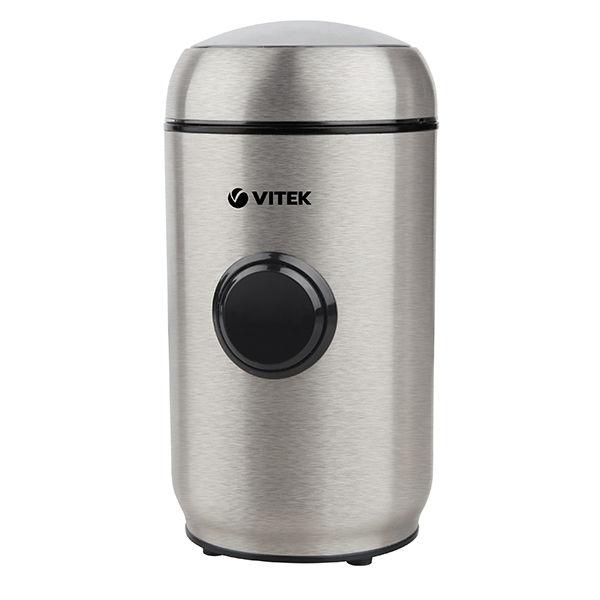 Кофемолка VITEK VT-7123,  серебристый [7123-vt-01]