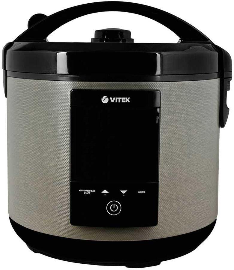Мультиварка VITEK VT-4271,  900Вт,   бежевый/черный [4271-vt-01]