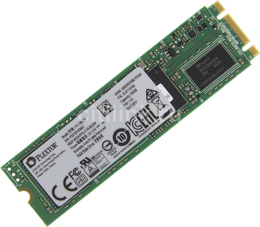 SSD накопитель PLEXTOR S3G PX-128S3G 128Гб, M.2 2280, SATA III