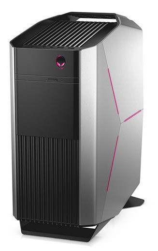 ПК Dell Alienware Aurora R6 i7 7700/16Gb/1Tb 7.2k/SSD256Gb/RX 580 8Gb/DVDRW/W10HSL64/kb/m/черный [r6-1783]