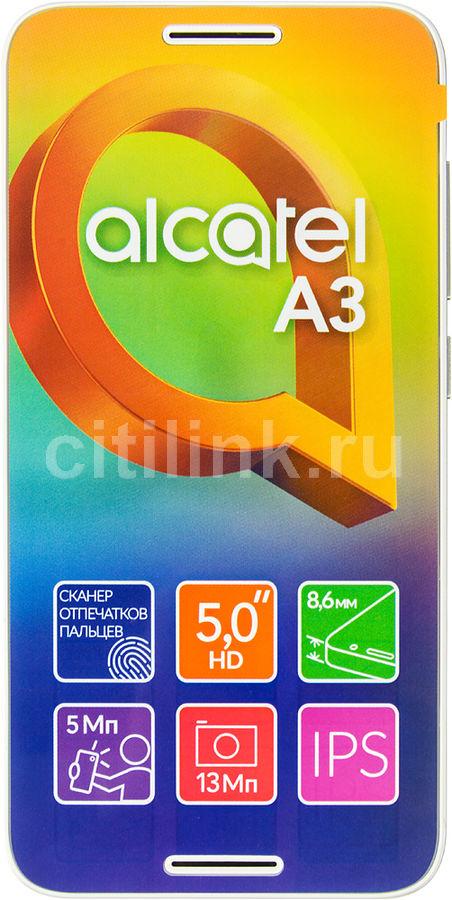 Смартфон ALCATEL A3 5046D,  белый