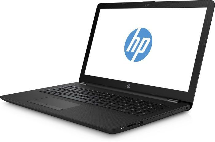 Ноутбук HP 15-bs023ur, 15.6, Intel Celeron N3060 1.6ГГц, 4Гб, 500Гб, Intel HD Graphics 400, DVD-RW, Free DOS, 1ZJ89EA, черный ноутбук hp 15 bs027ur 1zj93ea core i3 6006u 4gb 500gb 15 6 dvd dos black