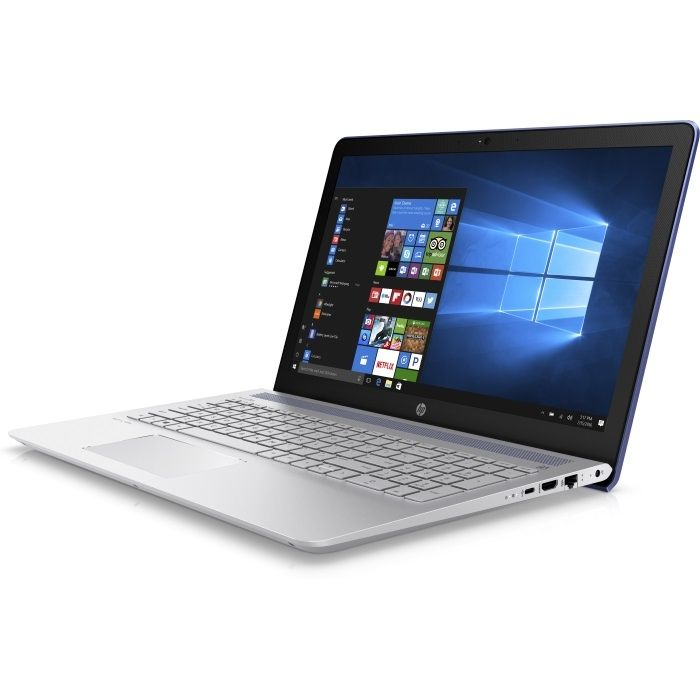 """Ноутбук HP Pavilion 15-cc520ur, 15.6"""", Intel  Pentium  4415U 2.3ГГц, 4Гб, 1000Гб, Intel HD Graphics  610, Windows 10, 2CT19EA,  синий"""
