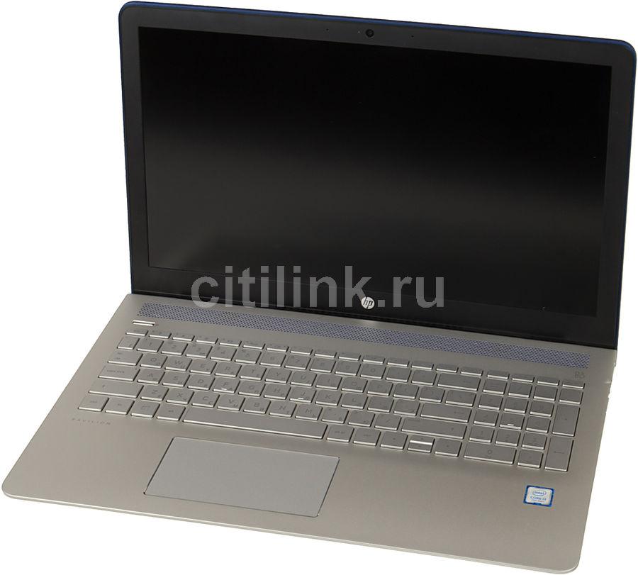 """Ноутбук HP Pavilion 15-cc523ur, 15.6"""", Intel  Core i3  7100U 2.4ГГц, 4Гб, 500Гб, Intel HD Graphics  620, Windows 10, 2CT22EA,  синий"""