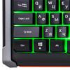 Клавиатура OKLICK 710G BLACK DEATH,  USB, черный серый вид 8