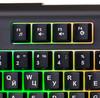 Клавиатура OKLICK 710G BLACK DEATH,  USB, черный серый вид 9