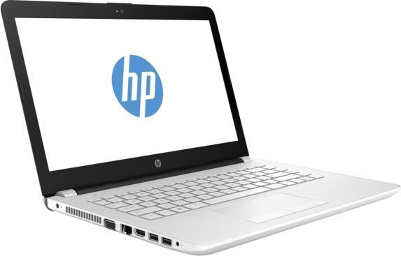 Ноутбук HP 14-bs012ur, 14, Intel Pentium N3710 1.6ГГц, 4Гб, 500Гб, Intel HD Graphics 405, Windows 10, 1ZJ57EA, белый ноутбук acer aspire a315 31 c3cw 15 6 intel celeron n3350 1 1ггц 4гб 500гб intel hd graphics 500 windows 10 черный [nx gnter 005]