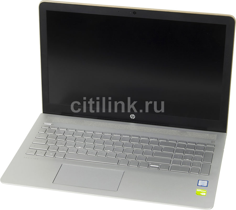 Ноутбук HP Pavilion 15-cc533ur, 15.6, Intel Core i7 7500U 2.7ГГц, 8Гб, 2Тб, 128Гб SSD, nVidia GeForce 940MX - 4096 Мб, Windows 10, 2CS76EA, золотистый 580978 001 for hp pavilion dv6 2000 notebook motherboard socket 989 motherboard w hdmi 31up6mb00j0 100