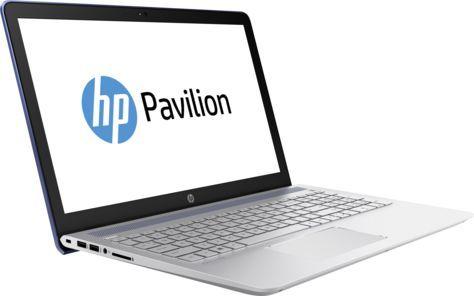 """Ноутбук HP Pavilion 15-cc534ur, 15.6"""",  IPS, Intel  Core i7  7500U 2.7ГГц, 8Гб, 2Тб,  128Гб SSD,  nVidia GeForce  940MX - 4096 Мб, Windows 10, 2CT32EA,  синий"""