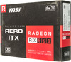Видеокарта MSI AMD  Radeon RX 560 ,  Radeon RX 560 AERO ITX 4G OC,  4Гб, GDDR5, OC,  Ret вид 6