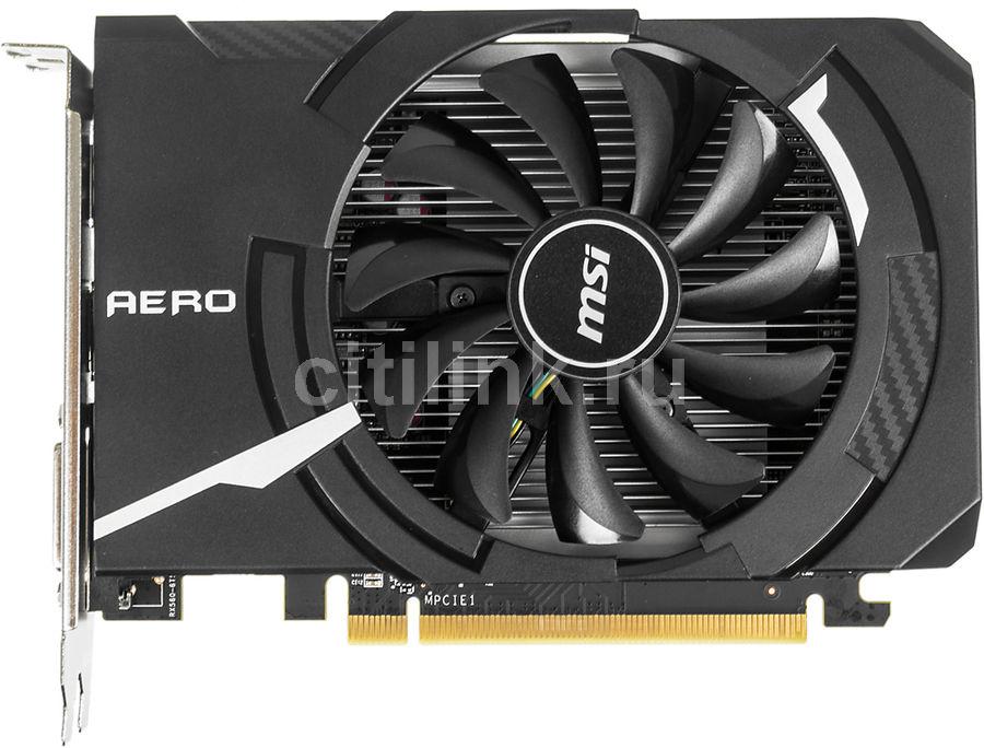 Видеокарта MSI AMD  Radeon RX 560 ,  Radeon RX 560 AERO ITX 4G OC,  4Гб, GDDR5, OC,  Ret
