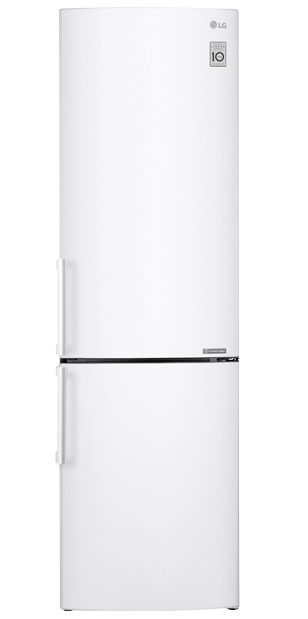 Холодильник LG GA-B499YVCZ,  двухкамерный, белый