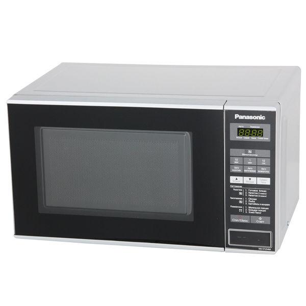 Микроволновая печь PANASONIC NN-ST254MZTE, серебристый