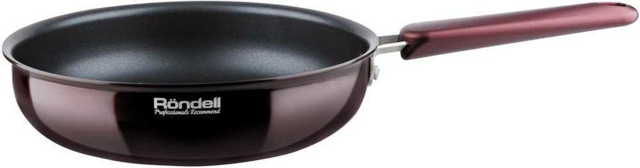 Сковорода RONDELL Bojole 0788-RD-01, 28см, без крышки,  бордовый