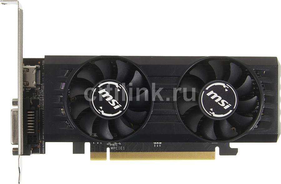 Видеокарта MSI Radeon RX 550,  RX 550 2GT LP OC,  2Гб, GDDR5, Low Profile,  OC,  Ret