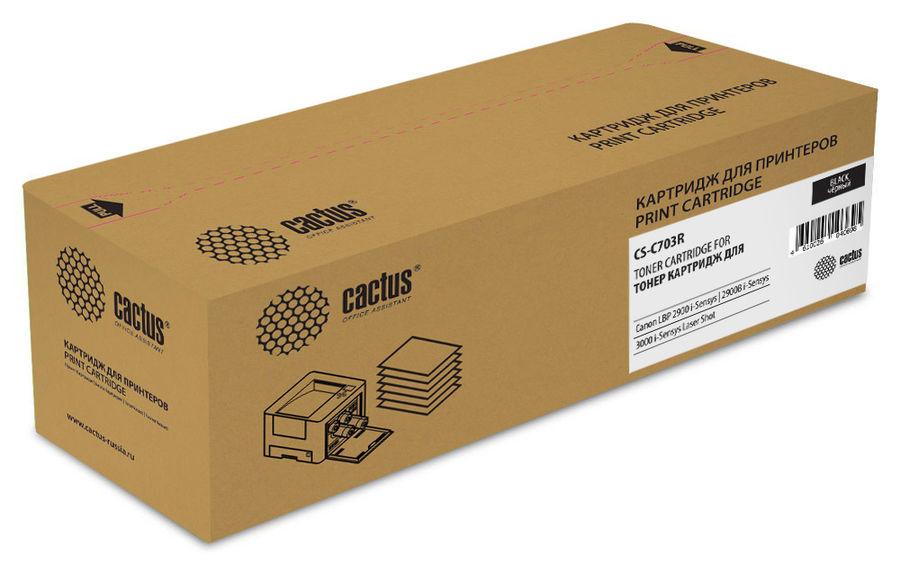 Картридж CACTUS CS-C703R черный
