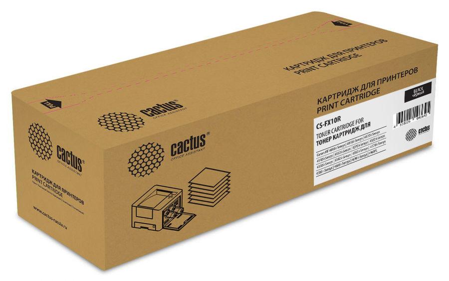 Картридж CACTUS CS-FX10R черный