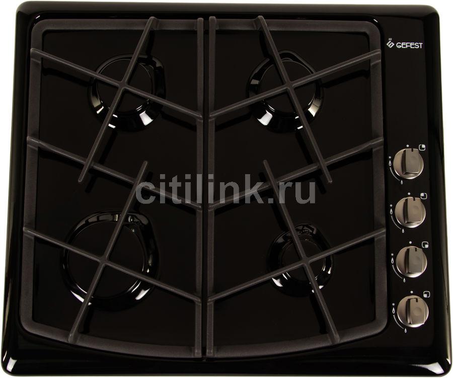 Варочная панель GEFEST СН 1211 К3,  независимая,  черный