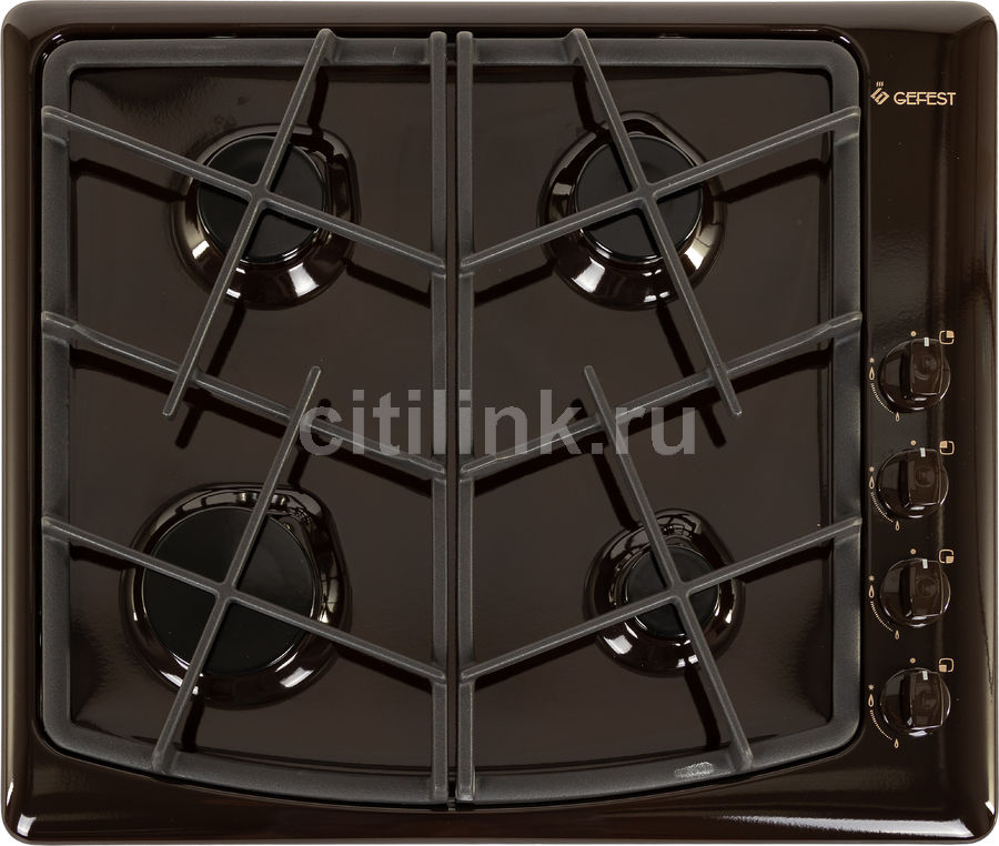 Варочная панель GEFEST СН 1211 К17,  независимая,  коричневый