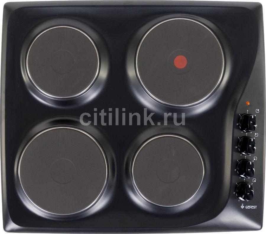 Варочная панель GEFEST ЭС В СВН 3210 К21,  электрическая,  независимая,  черный
