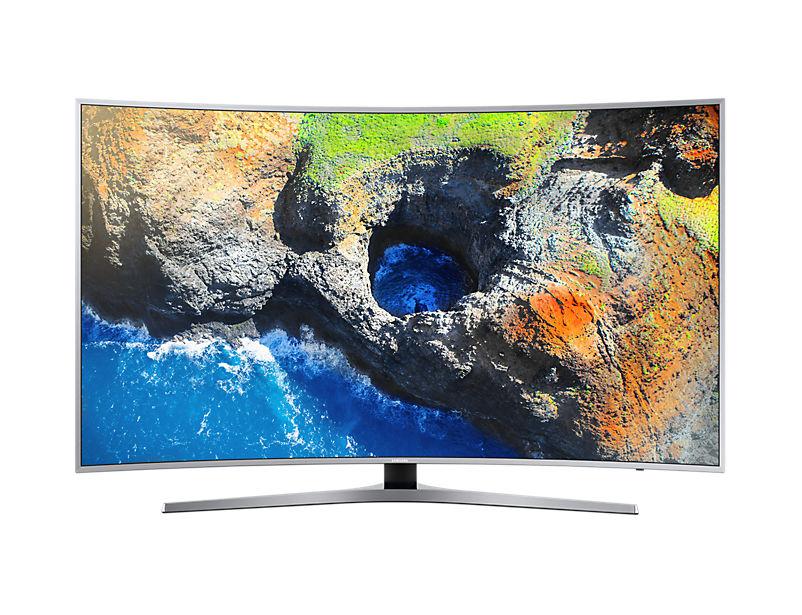 "LED телевизор SAMSUNG UE65MU6500UXRU  ""R"", 65"", Ultra HD 4K (2160p),  серебристый"