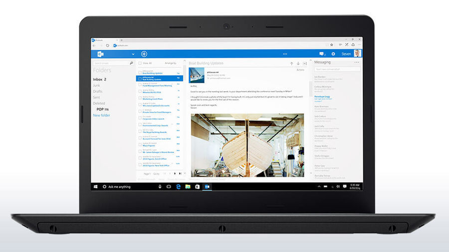"""Ноутбук LENOVO ThinkPad Edge 470, 14"""",  Intel  Core i5  7200U 2.5ГГц, 8Гб, 256Гб SSD,  Intel HD Graphics  620, Windows 10 Professional, 20H1006KRT,  черный"""