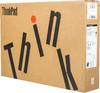 """Ноутбук LENOVO ThinkPad P51, 15.6"""",  IPS, Intel  Core i7  7700HQ 2.8ГГц, 8Гб, 256Гб SSD,  nVidia Quadro  M1200M - 4096 Мб, Windows 10 Professional, 20HH0014RT,  черный вид 17"""