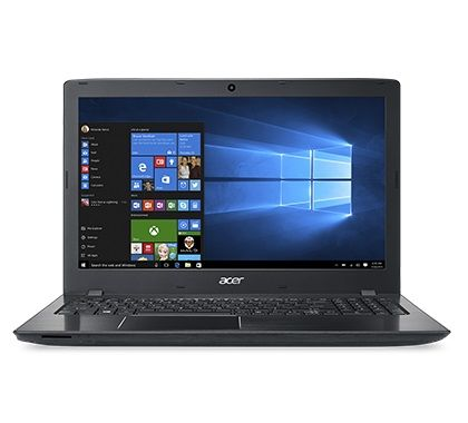 Ноутбук ACER Aspire E5-575G-524D, 15.6, Intel Core i5 7200U 2.5ГГц, 6Гб, 1000Гб, 128Гб SSD, nVidia GeForce GF 940MX - 2048 Мб, Windows 10, NX.GDWER.098, черный ноутбук acer aspire e5 575g 76fs 2700 мгц 6 гб 1000 гб