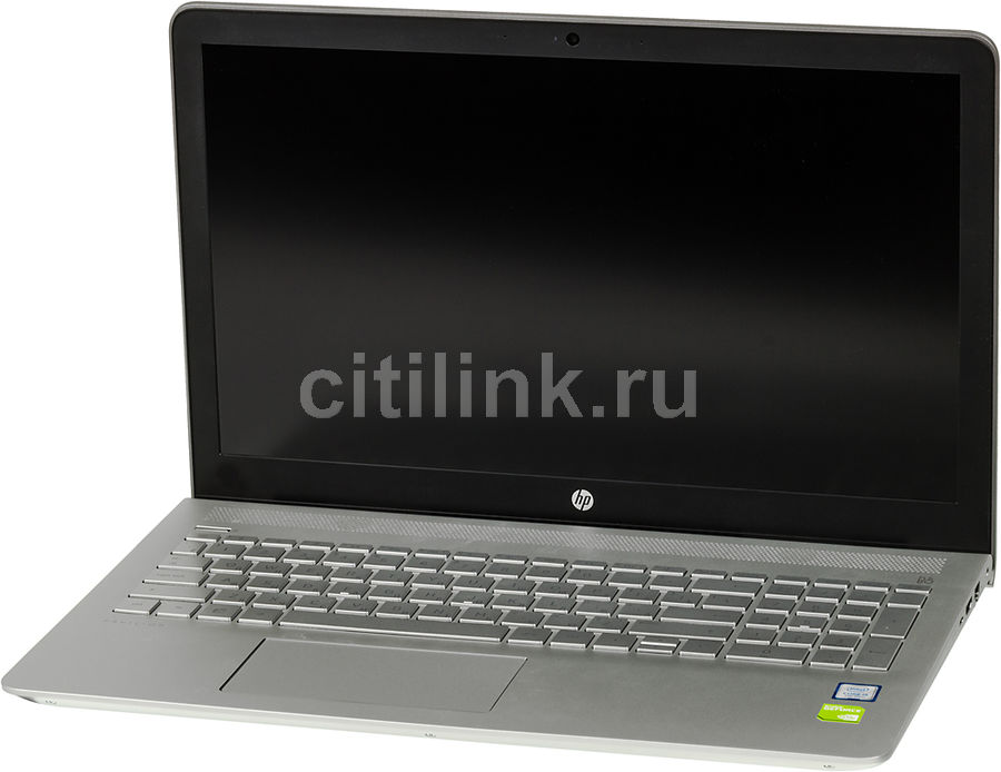 Ноутбук HP Pavilion 15-cc504ur, 15.6, Intel Core i5 7200U, 2.5ГГц, 6Гб, 1000Гб, 128Гб SSD, nVidia GeForce 940MX - 2048 Мб, Windows 10, серебристый [1za96ea]