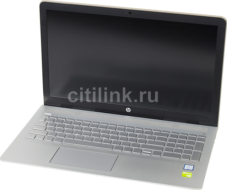 """Ноутбук HP Pavilion 15-cc505ur, 15.6"""", Intel  Core i5  7200U 2.5ГГц, 6Гб, 1000Гб, 128Гб SSD,  nVidia GeForce  940MX - 2048 Мб, Windows 10, 1ZA97EA,  золотистый"""