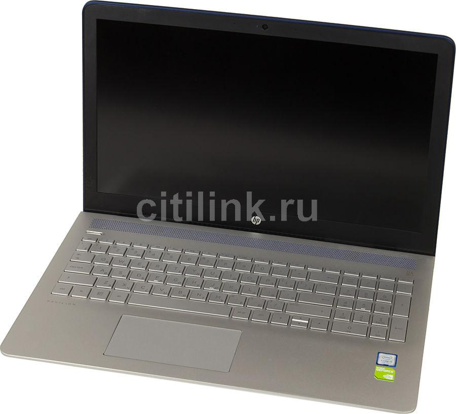 """Ноутбук HP Pavilion 15-cc529ur, 15.6"""", Intel  Core i5  7200U 2.5ГГц, 6Гб, 1000Гб, 128Гб SSD,  nVidia GeForce  940MX - 2048 Мб, Windows 10, 2CT28EA,  синий"""