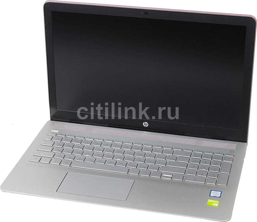 Ноутбук HP Pavilion 15-cc531ur, 15.6, Intel Core i5 7200U, 2.5ГГц, 6Гб, 1000Гб, 128Гб SSD, nVidia GeForce 940MX - 2048 Мб, Windows 10, розовый [2ct30ea]