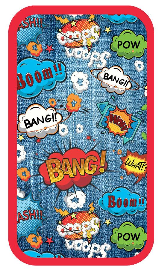 Пенал Silwerhof 850921 Комиксы 2отд. 190х110х35мм ламин.карт.
