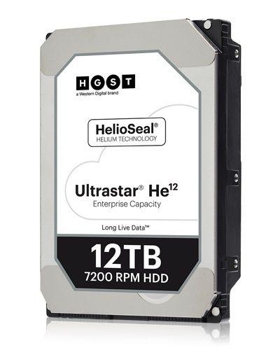 """Жесткий диск HGST Ultrastar HE12 HUH721212ALE604,  12Тб,  HDD,  SATA III,  3.5"""" [0f30146]"""